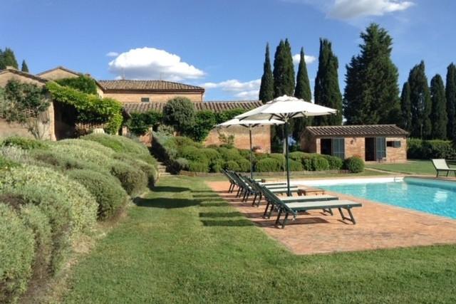 Magnifique propriété à louer en Toscane